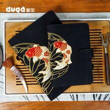 Agenda Kawaii Koi Notebook Cartoon Animal Journal Diary Planner Cloth Cover Notepad Bullet Daily Journal Book for Kids Gift
