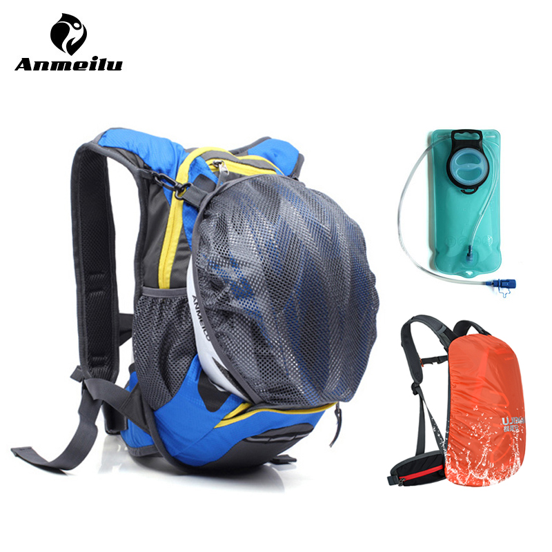 anmeilu 15l hydration backpack 2l water bag outdoor