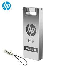 Флэш-диск hp 32 ГБ 16 ГБ, флеш-накопитель на заказ, сделай сам, милый мини-накопитель usb, оригинальная карта памяти, металлический USB флеш-накопитель, Прямая поставка,, 64 ГБ