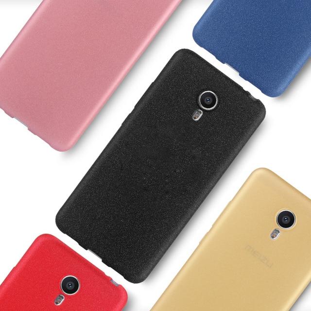 Luxury Ultra Thin Scrub Matte Soft Gel TPU Cover For Meizu MX6 5 Pro 6 Case For Meizu M3 M5 M5S Case Meizu M3 Note M5 Note Case