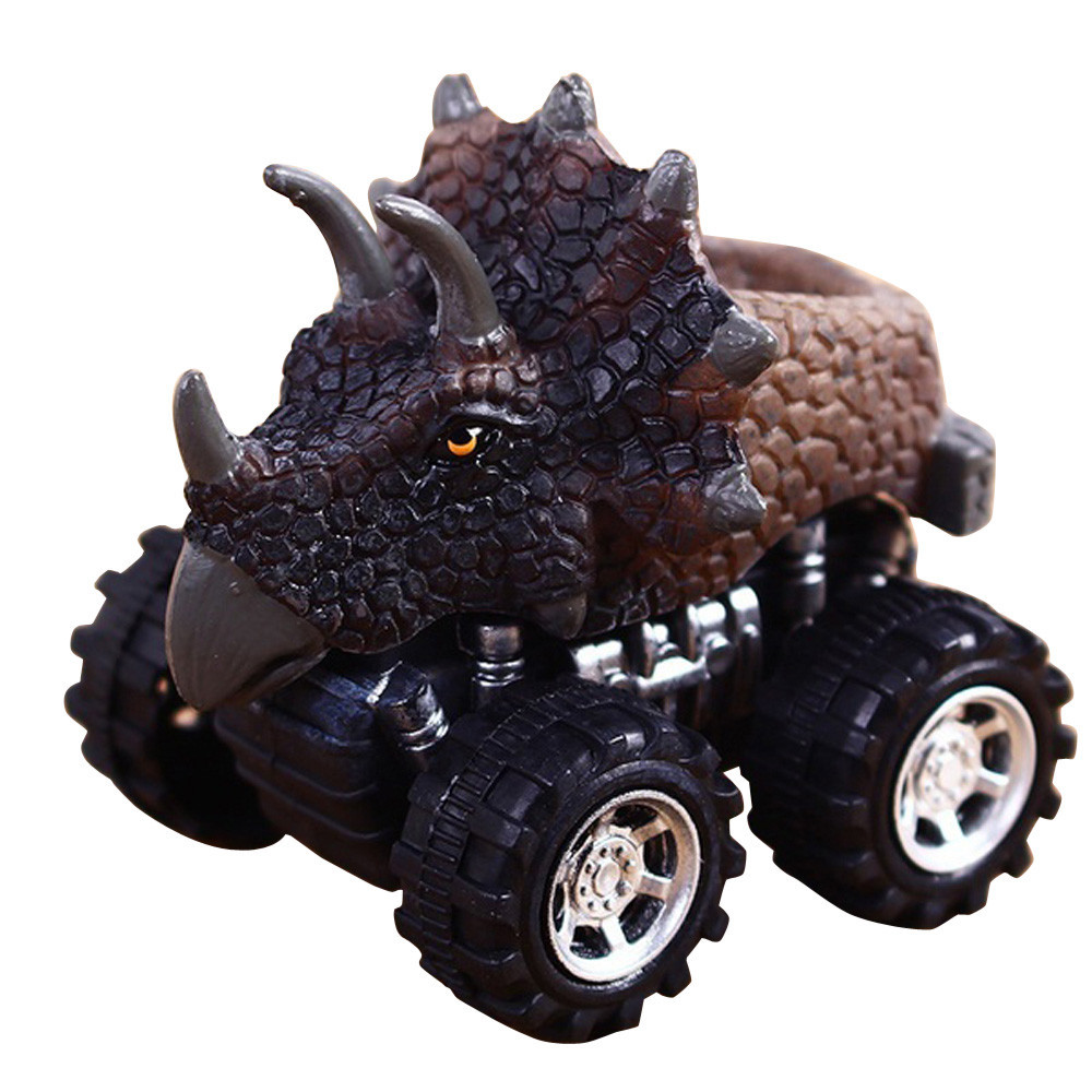 Kid Fun Novelty Toy Gift Anti-stress Boy Girl Adult New Children's Day Gift Toy Dinosaur Model Mini Toy Car Back Of The Car Gift