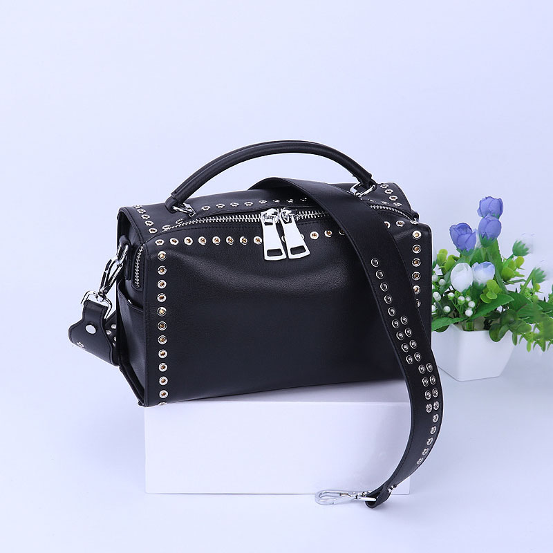 Luxury brand fashion pillow shape Genuine Leather women messenger bags Shoulder fashion rock and punk personality women handbag fashion clouds and person pattern square shape flax pillowcase without pillow inner
