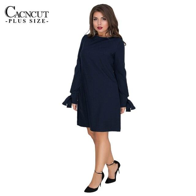 df0191331f2b64 CACNCUT Plus Größe 6XL Casual Frauen Kleid Große A linie Stil Sommer  Weibliche 2019 Mode Grün Spitze vestidos