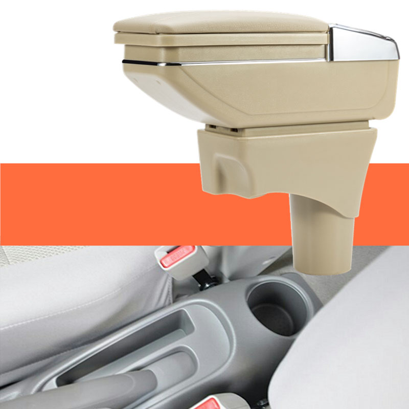 lsrtw2017 Car Armrest Central Storage Box For nissan sunny Latio almera versa 2011 2012 2013 2014 2015 2016 2017 2018 car armrest central store content storage box with usb for chevrolet aveo sonic holden barina 2011 2012 2013 2014 2015 2016 2017