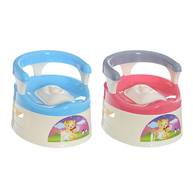 2016 Nuevo Diseño de Niño Plegable Portable llevar Inodoro Portátil Inodoro Orinal Bebé Niños Cómodos Envío Libre
