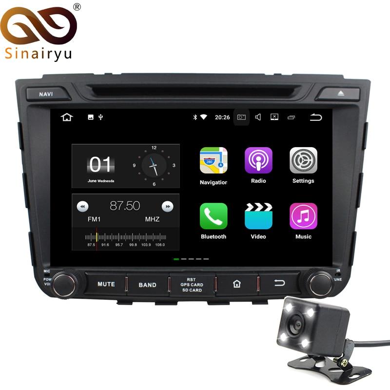 Sinairyu 2 г Оперативная память Android DVD 7.1 для автомобиля Hyundai IX25 2014-2015 Octa core 16 г Встроенная память Радио GPS навигации игрока головное устройство