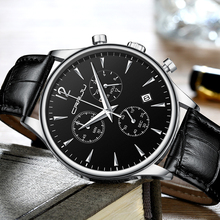 Mens Watches CRRJU Luxury Casual Waterproof Watch