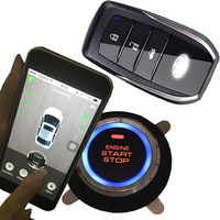 smart phone app gps gsm car security alarm system keyless entry engine ignition start stop gps tracking location auto alarm
