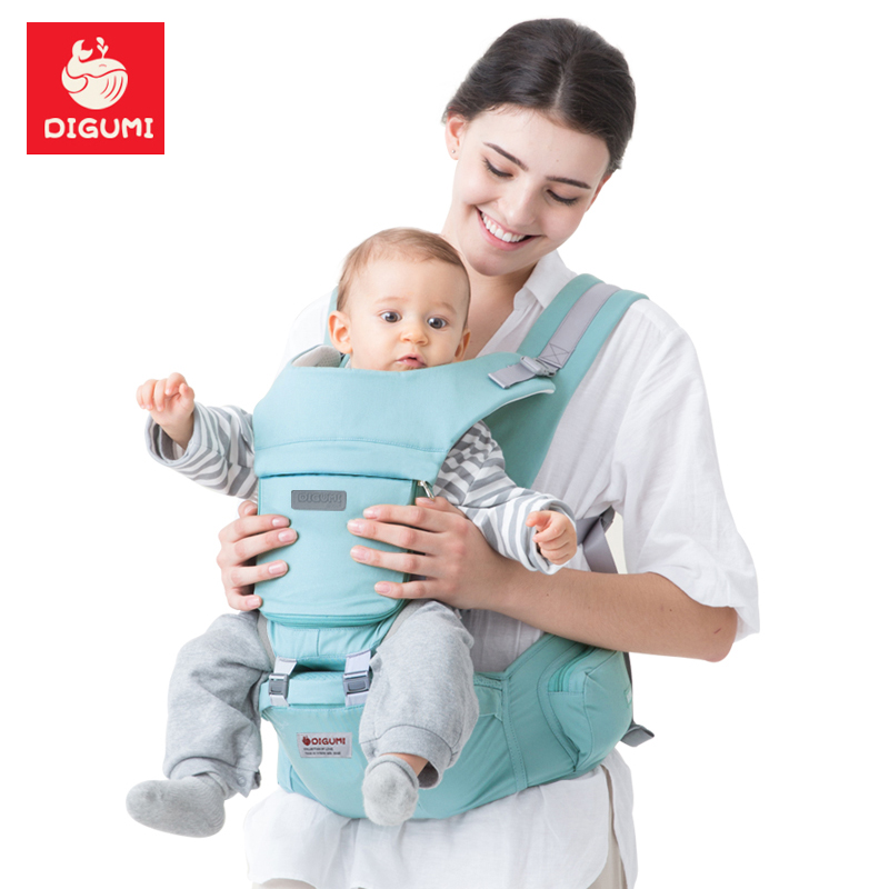 DIGUMI Ergonomic manduca Baby Carrier sling Breathable baby kangaroo hipseat backpacks & carriers Multifunction backpack sling кенгуру для детей ergonomic baby carrier baby carriers 01