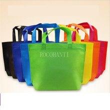 100X Nonwoven Shopping Bag Handle Promotional Customized Printing Non Woven Bag , Non Woven Shopping Bag , Non Woven Recycle Bag