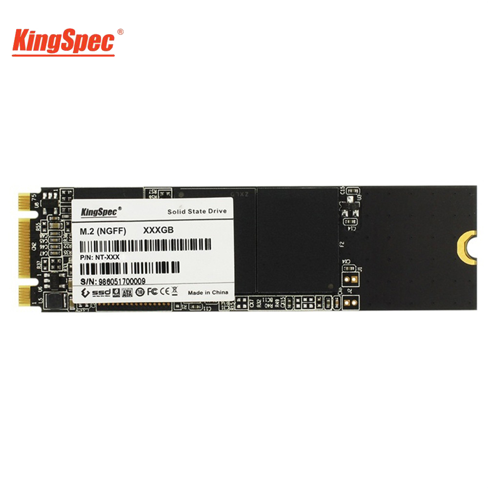 Kingspec 2280 2242 SATA Signal M2 SSD 64GB 128GB 256GB 512GB M.2 SSD To USB3.0 HDD Box Internal Hard Drive for Laptop/Desktop/PC