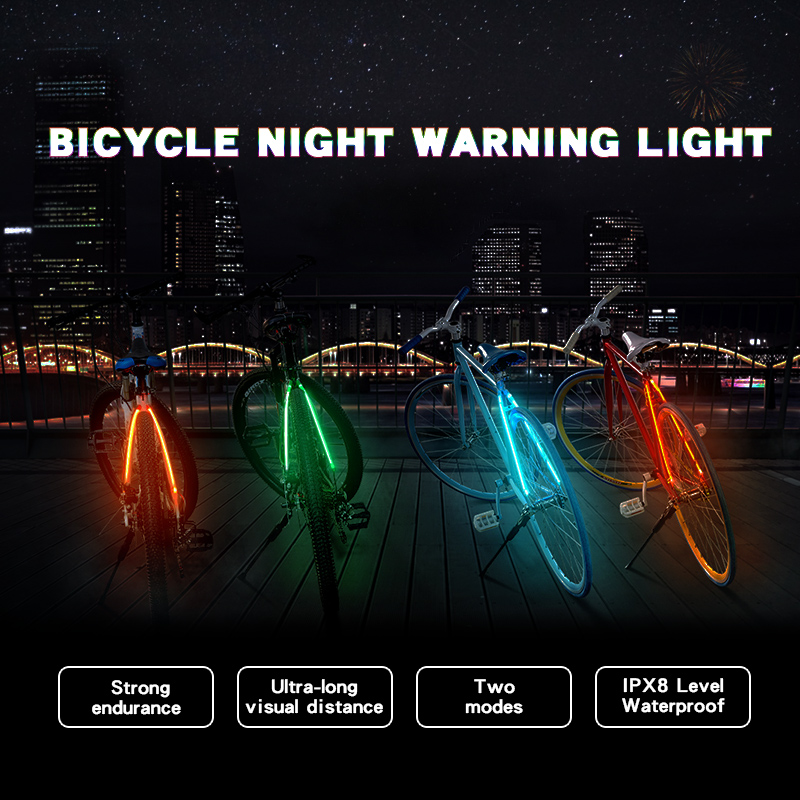 Bicycle Night Warning Light