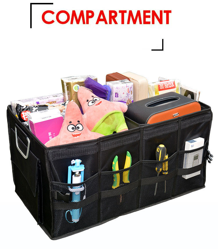 Large Capacity Car Trunk Organizer Portable Storage Tool Bag