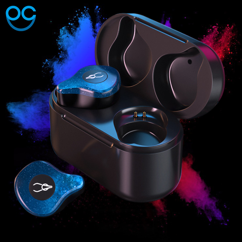New Mini BLuetooth Earphone Port Cordless Wireless Earbuds Stereo in ear Bluetooth 5.0 Waterproof Wireless ear buds Earphone sabbat mini tws v5 0 bluetooth earphone sport waterproof true wireless earbuds stereo in ear bluetooth wireless ear buds headset