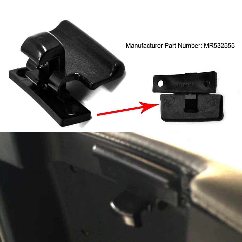 JEAZEA MR532555 Автомобильная застежка черный подлокотник коробка замка Крышка переключатель защелки для Mitsubishi Pajero V73 V75 V77 V93 V97