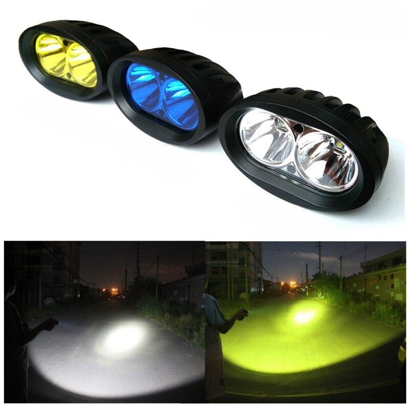 12v24v 20W Motorcycle Car Led spotlight truck fog light driving ...