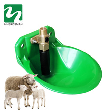 Copper valve sheep cow drinking bowl of environmental water fountain anti-throw resistance to touch the sheep drinking fountain