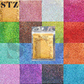 STZ 1 bags Wholesale Beauty Nail Art Glitter Decorations Powder Dust DIY Magic Body Craft Polish Laser Colors Tips L01-16