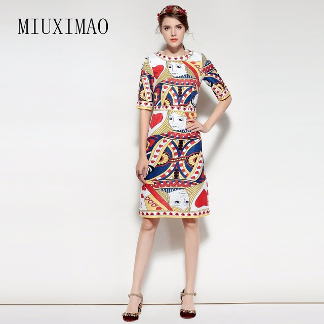 Custom Plus Size Dress 2018 Spring & Summer New Arrival Fashion A ...