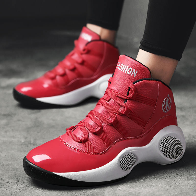 New Arrival Men Basketball Shoes Ankle Boots Comfortable Cushioning Breathable Outdoor Sneakers Professional Sport Sneakers peak men athletic basketball shoes tech sports boots zapatillas hombres basketball breathable professional training sneakers