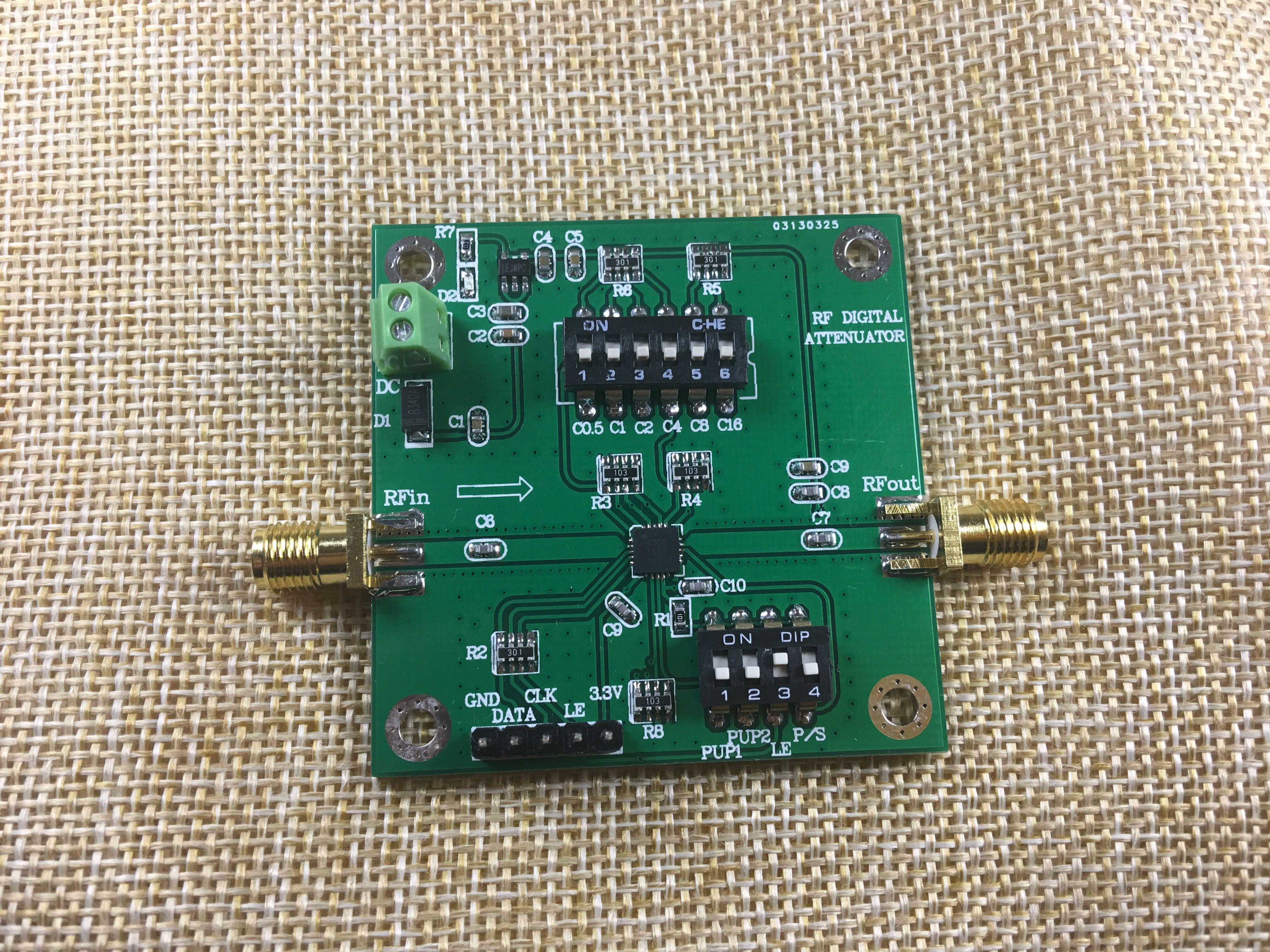 PE4302 CNC Attenuator DC3G Attenuation 31.5dB лопата truper pcl pe 31174