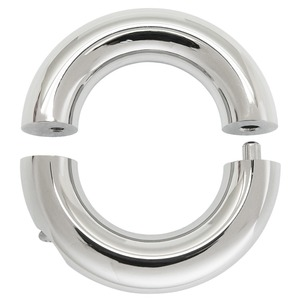 Image 4 - 6mm to 12mm thick 316L stainless steel body piercing ring jewelry segment tribal dream ring for man genital piercing rings