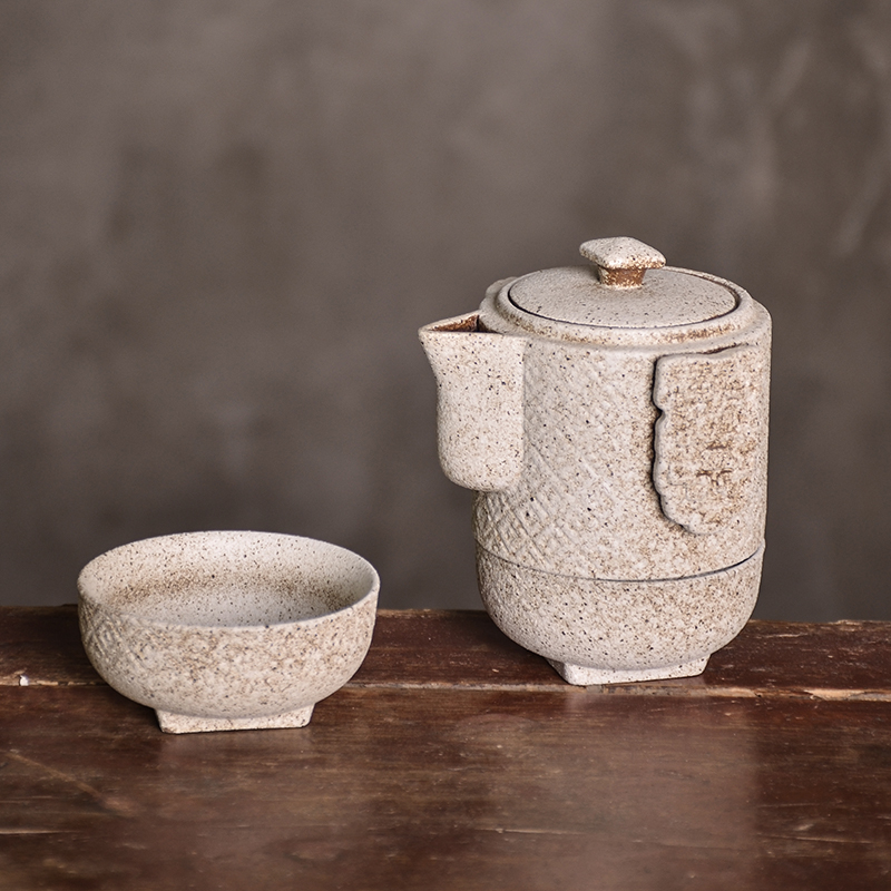 TANGPIN japanese ceramic teapot kettle gaiwan teacup porcelain tea pot set portable travel tea set in Teaware Sets from Home Garden