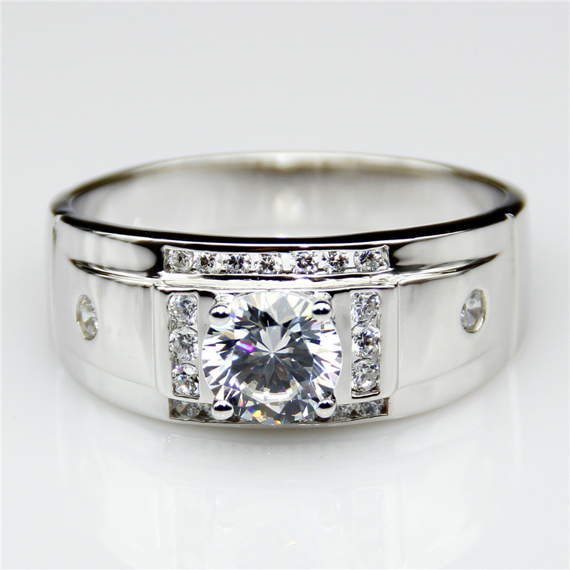 Online Get Cheap Wide Band Diamond Rings Aliexpresscom Alibaba