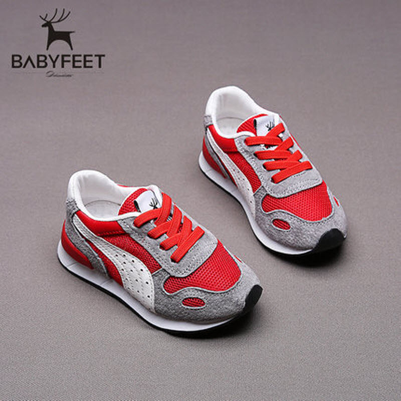 babyfeet Spring and Autumn children sneakers baby girls Child toddler casual shoes breathable Suede Leather boys sports shoes classic casual baby shoes toddler newborn polka dots baby girls autumn lace up first walkers sneakers shoes