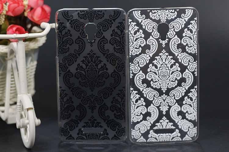 Высокое качество роскошные Винтаж черные и белые цветы чехол для телефона <font><b>Alcatel</b></font> OneTouch POP STAR 3G ot5022 5022x 5022d ot-5022