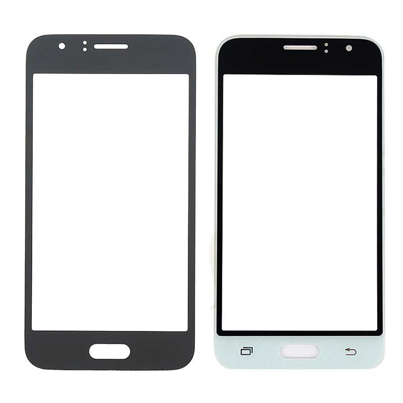 SZHAIYU Panel frontal de cristal para Samsung Galaxy J1 2016 J120 J120F J120H J120M táctil pantalla LCD pantalla exterior cubierta de vidrio
