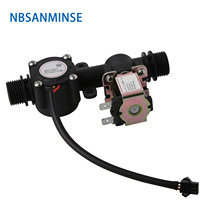 NBSANMINSE SMF YTF01 G1/2 Inch High Quality Water flow sensor for Water heaters Campus swipe machine Water vending machines