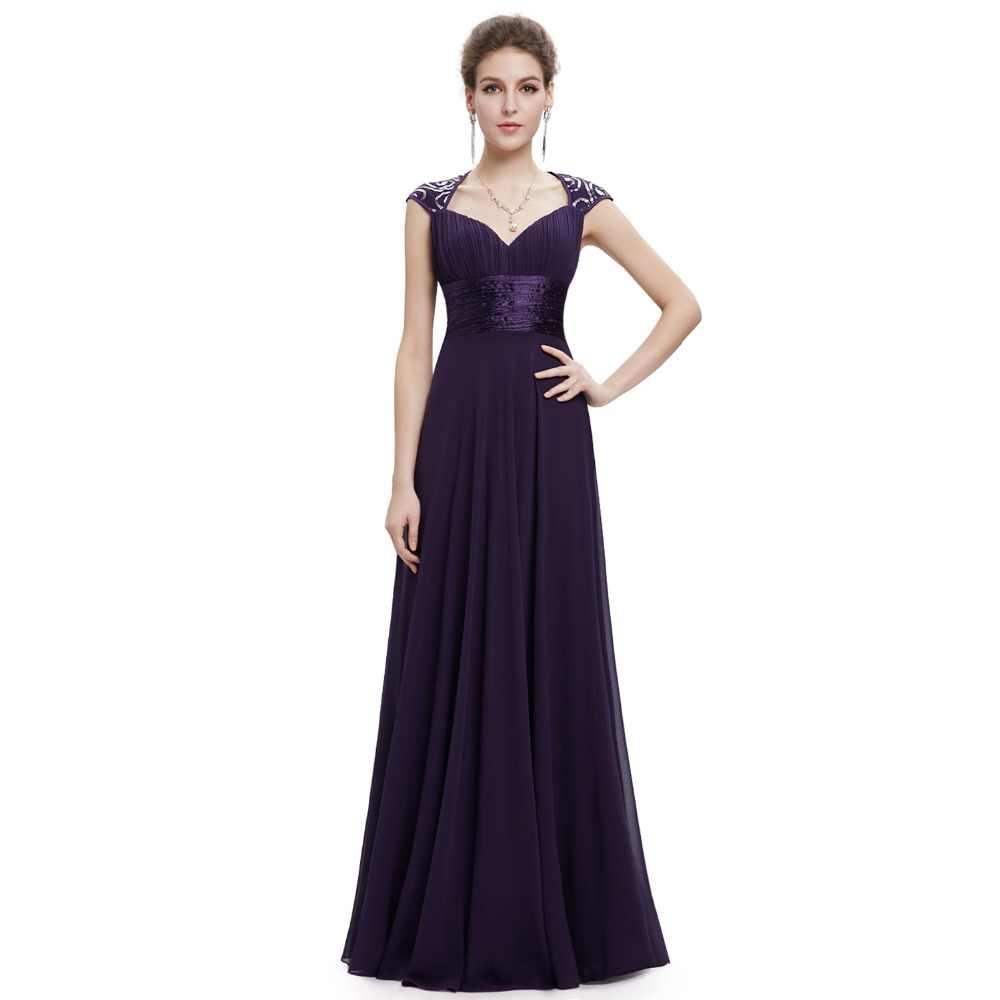 Clearance Sale  Formal Long Evening Dresses Ever Pretty EP09672 Long  Sleeves Dark Purple Evening baab92ede76e