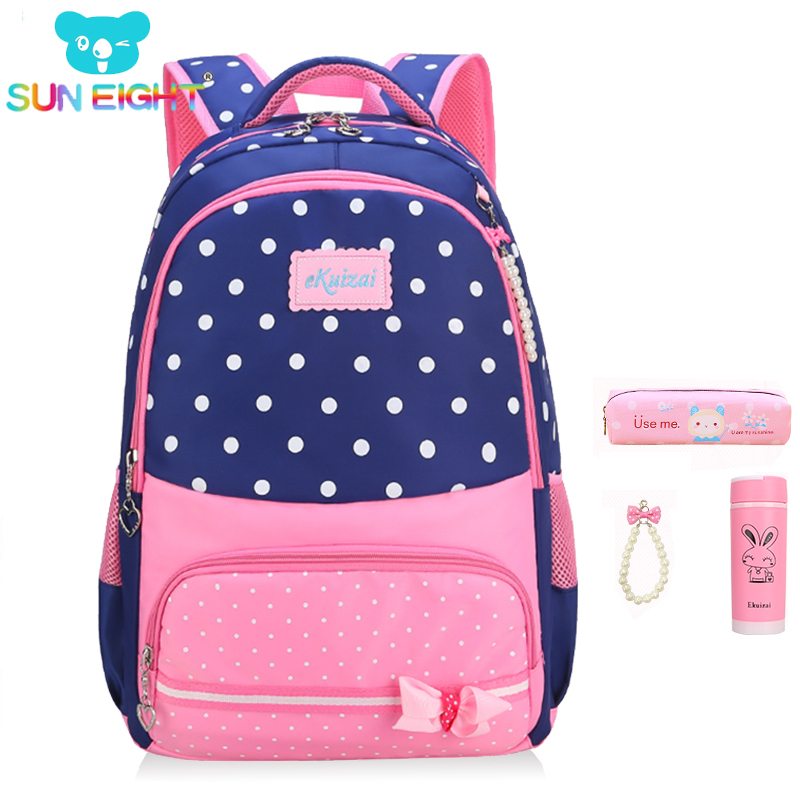 New 2018  School Bags for Girls Brand Women Backpack Cheap Shoulder Bag Wholesale Kids Backpacks Fashion