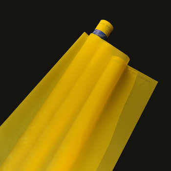120T 34UM Yellow 165cm 20Meters Polyester Screen Printing Mesh - DISCOUNT ITEM  0% OFF All Category