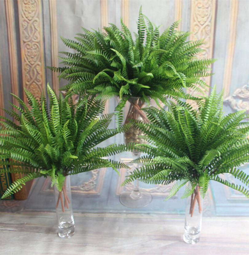 Aliexpress buy real touch persia leaf bunch pcs per