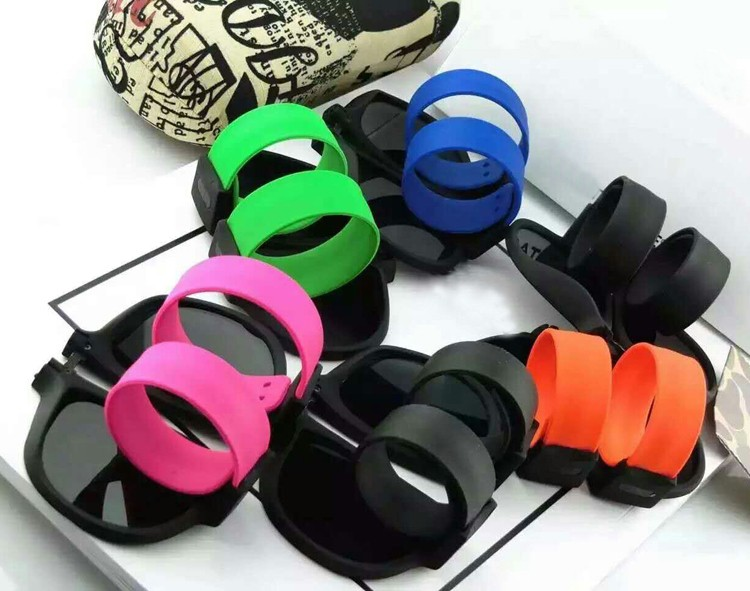 Portable Folding Bracelet Sunglasses  (1)