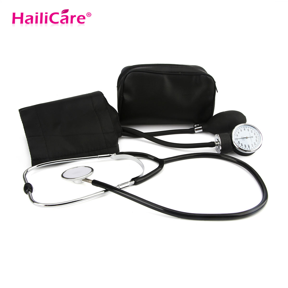 Health Care Professional Blood Pressure Monitor Cuff Stethoscope Meter Estetoscopio Aneroid Measure for Doctor Househould Device
