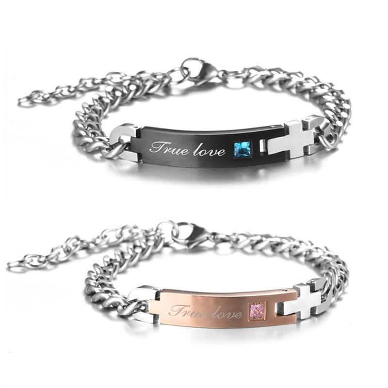 """Men Women/""""Her King His Queen/"""" Alloy Couple Love Unique Bracelet Unisex Jewellery"""