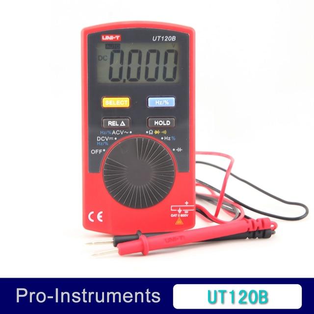 UNI-T UT120B Digital car Multimeter 600V DMM AC DC Voltmeter Resistance Diode test