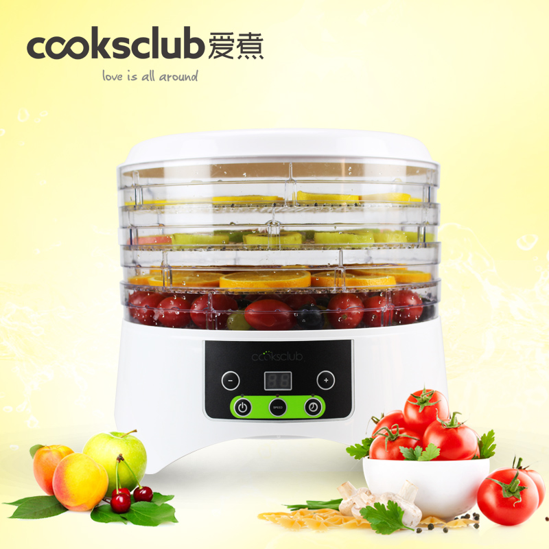 Household fruits vegetables herbs and pet snacks automatic timed mini dehydration air - dried machine 4 floors automatic spanish snacks automatic latin fruit machines