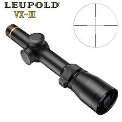 LEUPOLD 1,5-5X20 Mil-точечные винтовочные Прицелы прицел для охотничьей винтовки с подсветкой тактический