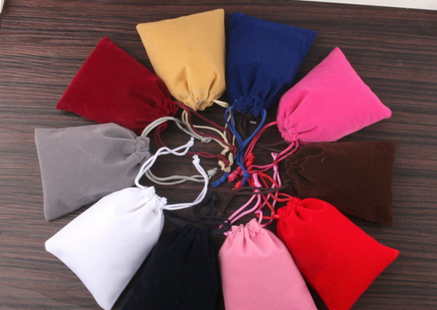 Earrings Pouch Packaging-Bags Diaper-Bags Small DHL 1000pcs Velvet-Bag Charms Jewelry
