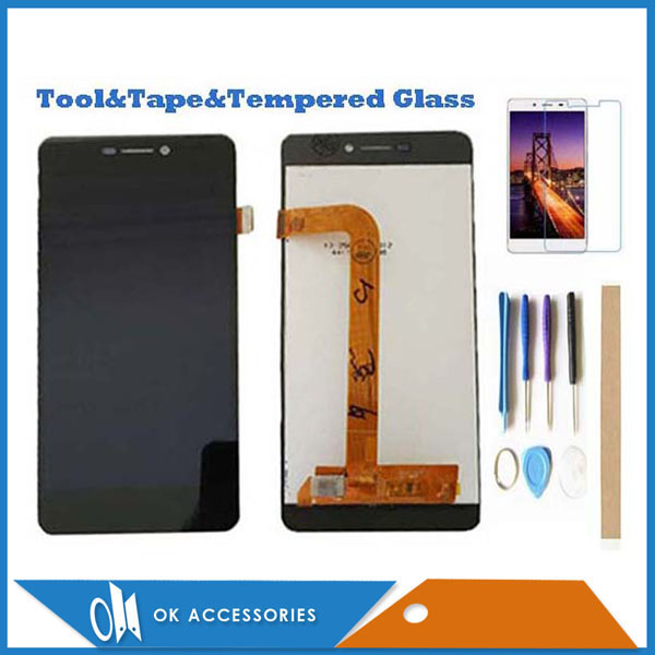 "5.0"" For BQ BQ-5037 BQS-5037 BQS 5037 BQ5037 BQ 5037 Strike Power 4G LCD Display With Touch Screen Digitizer Assembly With Kits"