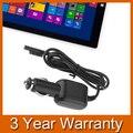 Substituição portátil car charger adaptador de alimentação para microsoft surface pro 3 12 polegada tablet