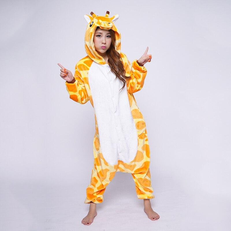 cosbus флис   жираф животные пижама пижамы боди комбинезоны косплей костюм  пижамы комбинезон для взрослых 2f7ab5d7d9b2e