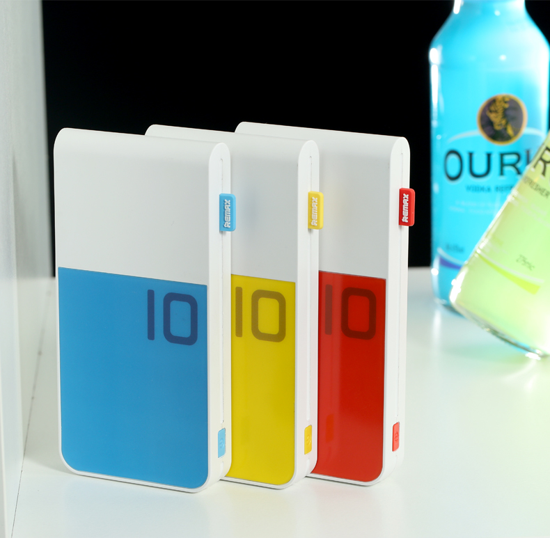 Power Bank 10000MAH Dual USB Colorful Portable Powerbank External Mobile Battery Charger For all smart phone