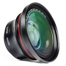 Топ предложения Ordro Объектив для камеры HD 0.39X супер Широкий формат объектив для видеокамеры Запись (FS-1)