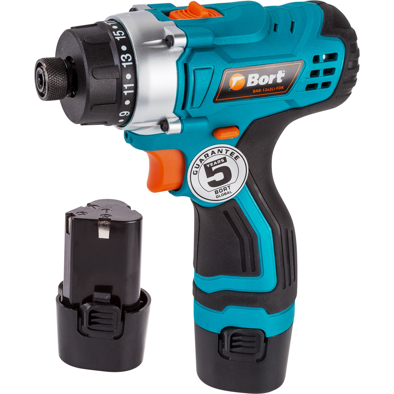 12V Bort Li-Ion Lithium Battery Electric Drill Cordless Screwdriver Mini Drill Cordless Screwdriver Power Tools Cordless Drill BAB-12x2Li-FDK li ion battery electric cordless screwdriver set led light indicator and multi bits sockets