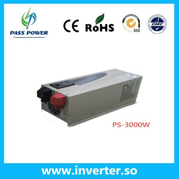 CE,RoHS, UPS Pure Sine Wave Low Frequency Inverter with Charger 3000W